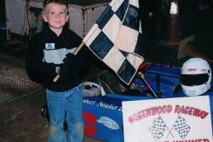 Robert 1st Feature Win