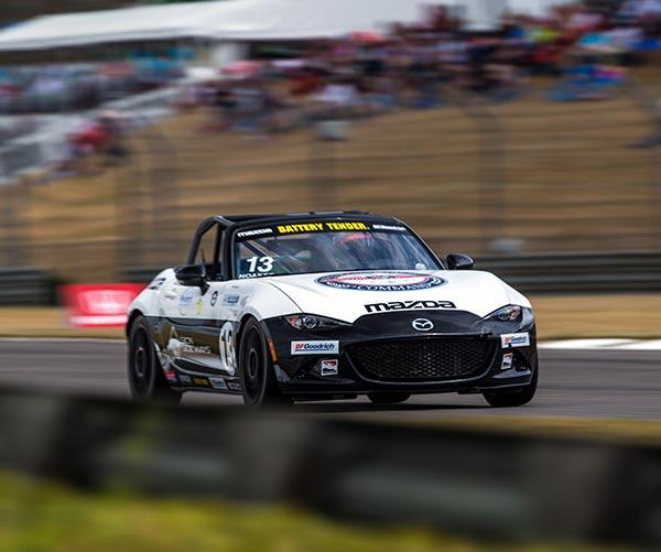 Robert Noaker Racing on the Track