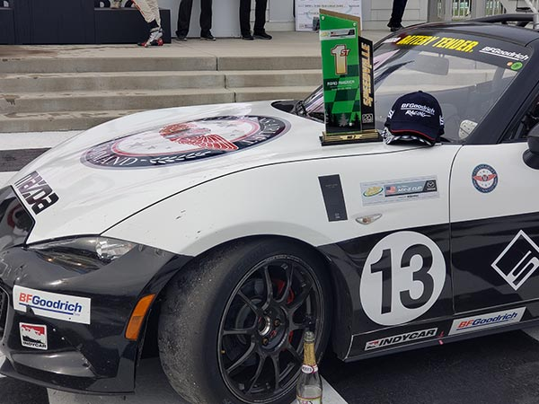 Robert Noaker's Trophy Road America Win